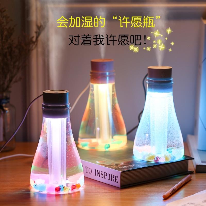 สร้างสรรค์มินิ usb ที่ต้องการความชื้นในขวดคืนแสง
