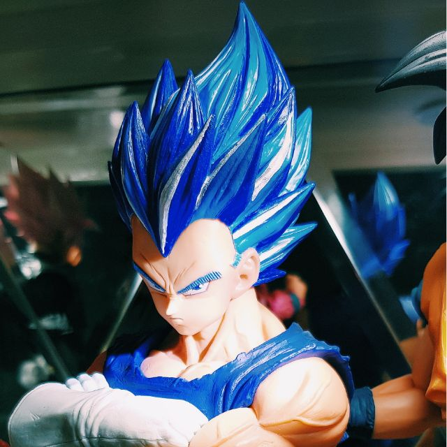 Mô hình Vegeta Grandista ROS Super Saiyan Blue Full Power Repainted