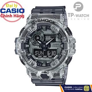 Đồng hồ nam Casio G-Shock GA-700SK-1ADR chính hãng G-Shock GA-700SK-1A Skeleton trong suốt thumbnail