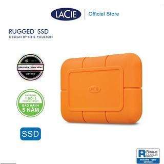 Lacie Rugged SSD 2TB - Ổ CỨNG DI ĐỘNG TYPE C - DÒNG CHUYÊN NGHIỆP, lý tưởng cho iMAC macbook thumbnail