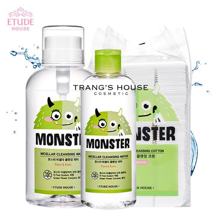 Nước Tẩy Trang Etude House Monster Micellar Cleansing Water