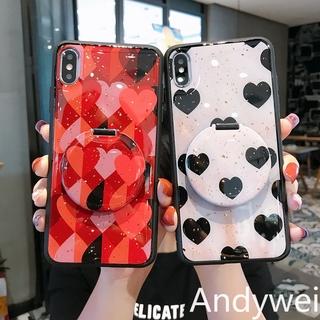 Samsung Galaxy S9 S8 S10 S20 S20plus S10lite S20ultra Note 8 9 10plus Love Holder Hard Case