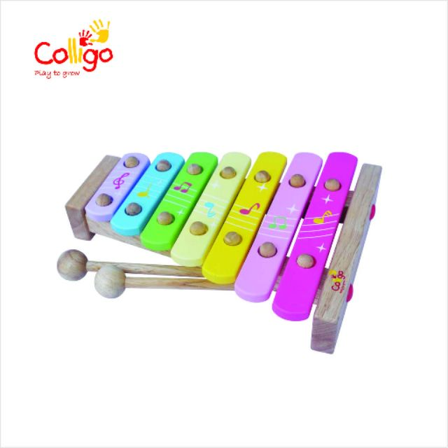 Đồ chơi gỗ Colligo xuất Nhật -Đàn mộc cầm