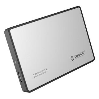 [Mã ELFLASH1 hoàn 10K xu đơn 20K] Hộp đựng ổ cứng 2.5″ HDD BOX ORICO 2588US3 Bạc