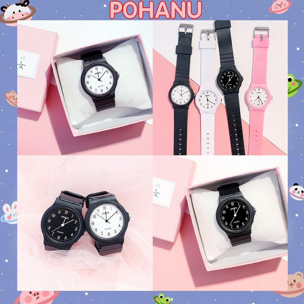 Đồng hồ nam nữ Candycat thời trang phong cách Hàn Quốc DH83