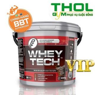 Whey Tech – Xây dựng nuôi dưỡng cơ bắp hoàn hảo – 66 Liều dùng – 3 Kg