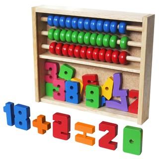Bảng tính học toán bằng gỗ hàng winwintoys