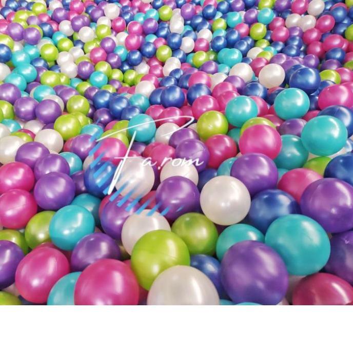 Set 100 Bông Tắm Nhiều Màu Sắc 3.3