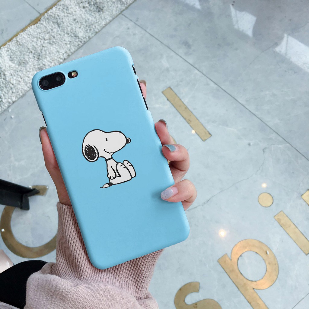 Ốp điện thoại hình Cún con dễ thương thời trang đẹp mắt cho iPhone 6/6S/6 Plus/6S Plus/7/7 Plus/8/8 Plus/X/XS/XS MAX