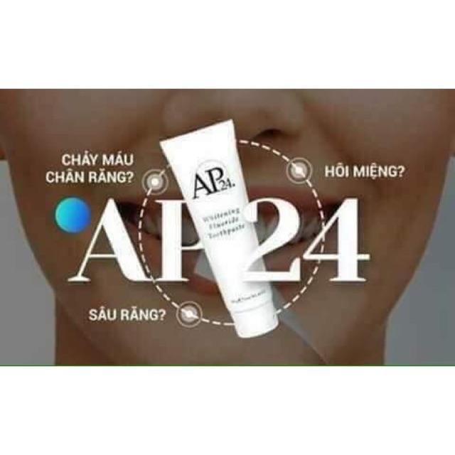 Kem đánh răng trắng sáng cao cấp an toàn Ap24 nhấp khẩu và phân phối chính hãng của Mỹ giúp răng trắng sáng nụ cười tươi - 15086466 , 2265288878 , 322_2265288878 , 1244000 , Kem-danh-rang-trang-sang-cao-cap-an-toan-Ap24-nhap-khau-va-phan-phoi-chinh-hang-cua-My-giup-rang-trang-sang-nu-cuoi-tuoi-322_2265288878 , shopee.vn , Kem đánh răng trắng sáng cao cấp an toàn Ap24 nhấ