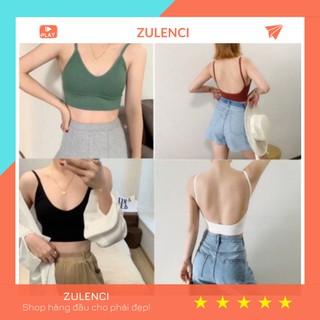 Áo lót nữ, ao bra hở lưng cotton mềm mại, co giãn 4 chiều, mặc với đầm hở lưng sexy gợi cảm AL168