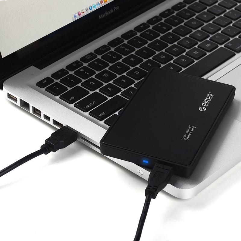 Hộp ổ cứng 2.5 inch USB 3.0 ORICO 2588US3-BK - Hàng chính hãng