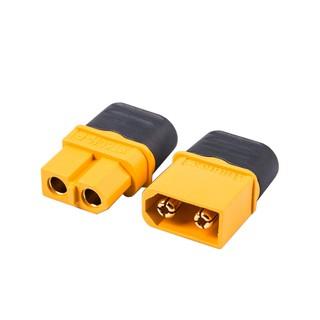 [HCM] – Jack cắm XT60 (chất lượng cao) có nắp chụp bảo vệ kết nối Pin Lipo | Mạch chia nguồn PDB | ESC