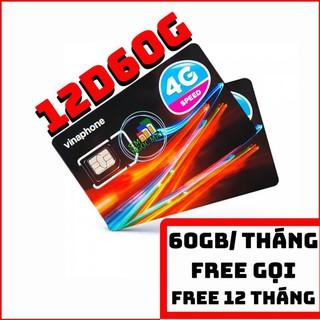 (FREE 12T)Sim 4G Vinaphone Đỉnh D60G TRỌN GÓI 1 NĂM – 2GB/NGÀY – 60GB/THÁNG – TIẾT KIỆM CHI PHÍ HƠN WIFI