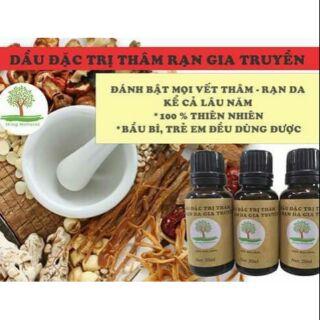 Tinh dầu đặc trị thâm và rạn da gia truyền