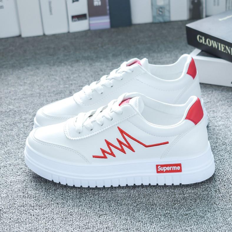Giày Nữ, Giày Thể Thao Sneaker Nữ Màu Trắng G16 Hot 2020