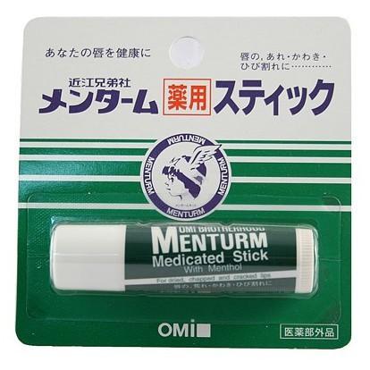 Son Dưỡng Môi OMI Brotherhood Menturm Medicated Lip Balm Stick (4g)