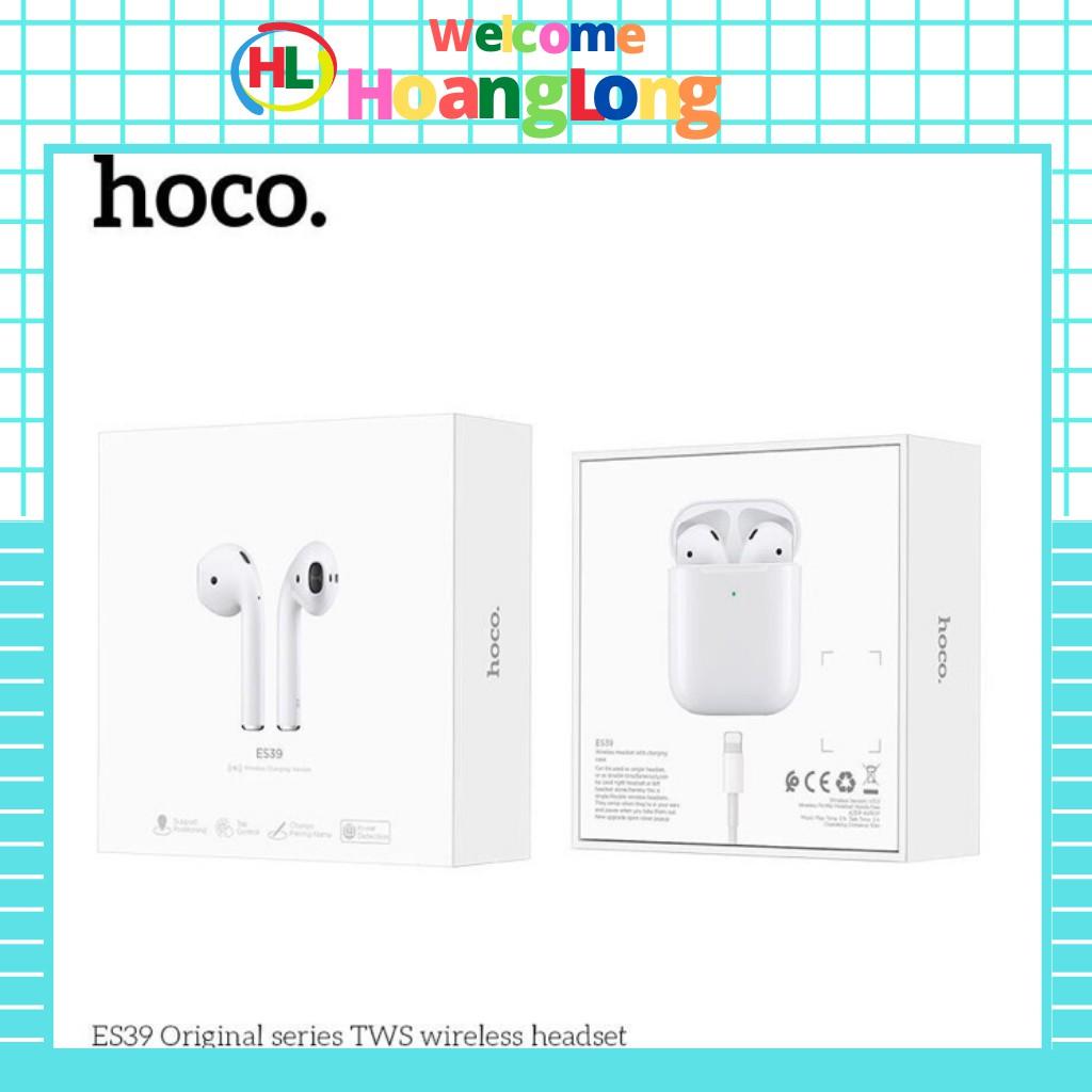 Tai nghe Hoco ES 39 (hỗ trợ sạc ko dây,định vị, đổi tên) (Chính hãng, BH 1 năm)