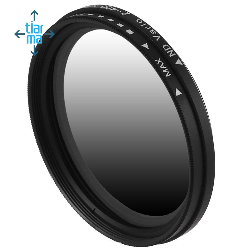 52mm Fader Variable ND Filter Neutral Density ND2 ND4 ND8 ND16 To ND400 Lens Filter