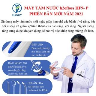 Hình ảnh Máy tăm nước h2ofloss HF- 2 nhập khẩu HANGY [Tặng hộp đựng đầu xịt và túi vải đựng máy cao cấp]-3
