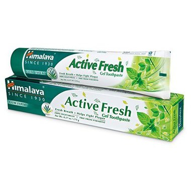 Himalaya Active Fresh Herbal Toothpaste - Kem Đánh Răng Thảo Mộc Tươi Mát  100gr | Shopee Việt Nam