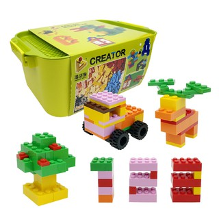 Bộ 500 miếng ghép Lego tiêu chuẩn có thùng đựng PANLOS 601005 NLG0076 #NAMLEGO
