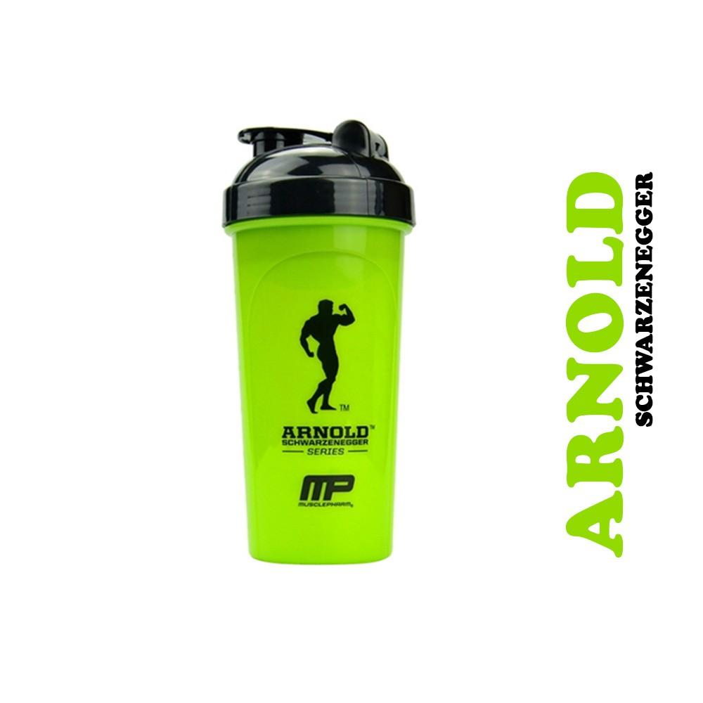 Bình lắc tập Gym ⚡FREE SHIP⚡ Bình nước thể thao Arnold 700ml