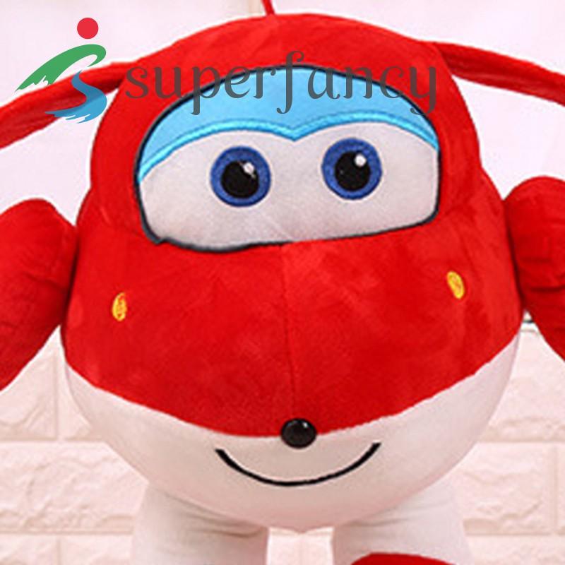ready stock Super Wings Plush Toy Jett Dizzy Little Flying Hero Dolls Gift for Kids