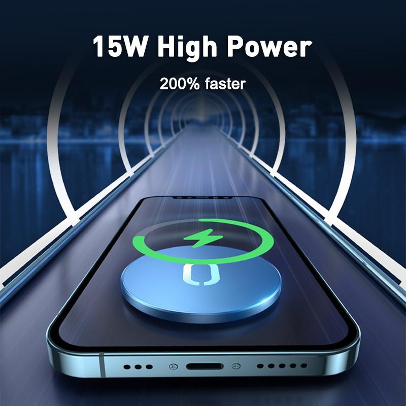 Đế Sạc Nhanh Không Dây 15w Cho Iphone 12 12 Pro