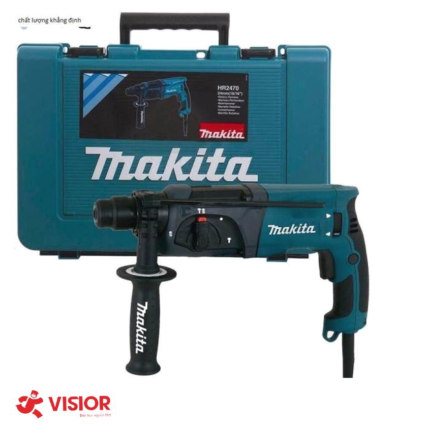 Máy khoan búa Makita HR2470X5 800W