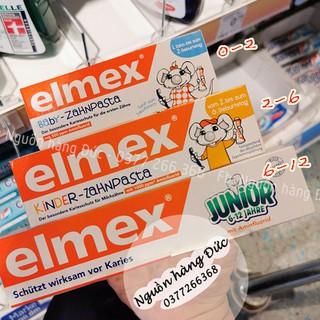 Kem đánh răng Elmex trẻ em – Nguồn hàng Đức