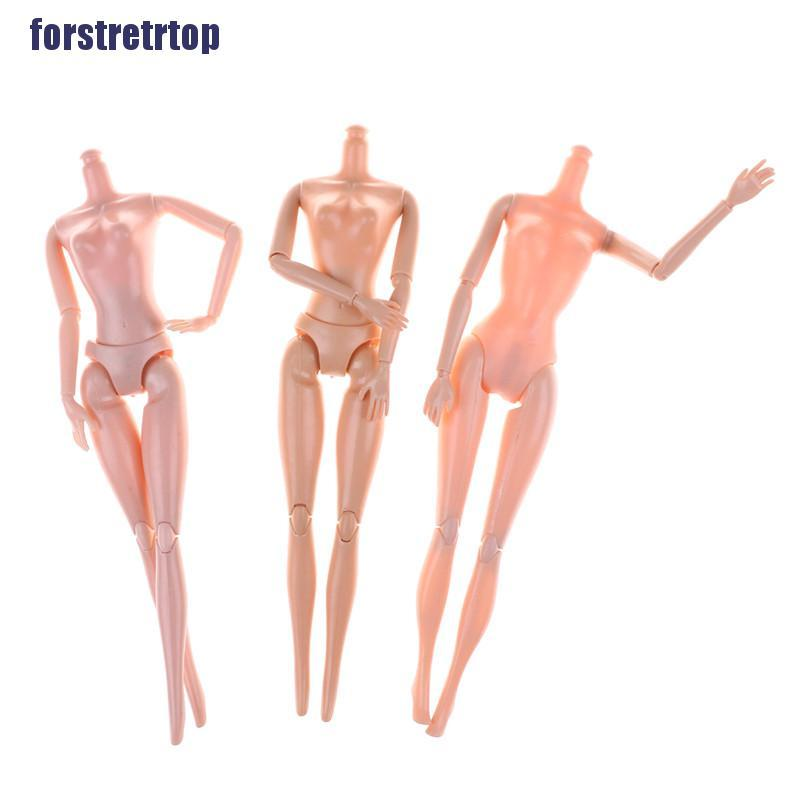 【FSTTTOP】14/11 Jointed Movable Nude Naked Doll Body For 11'' Doll 1/6 30cm Dol