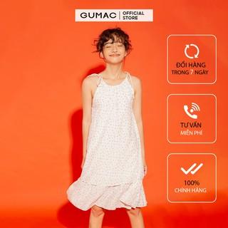 [Mã FASHION10KP giảm 10K đơn 50K] Đầm suông nữ GUMAC phom xòe 2 tầng trẻ trung đủ size DA12181 thumbnail