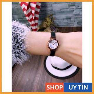 [Hàng Cao Cấp] Đồng hồ nữ Yuhao mặt vát 3d nhỏ xinh