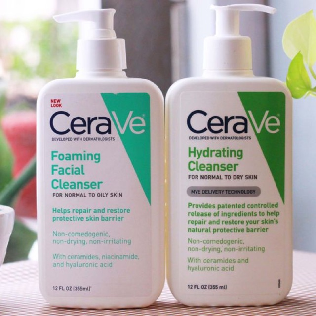 Sữa Rửa Mặt Cerave ® Facial Cleanser của Mỹ