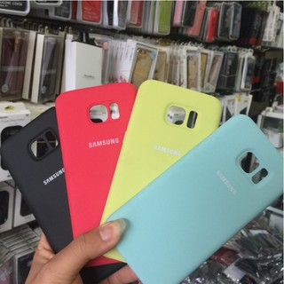 Ốp Lưng Silicone Cover chống bẩn cao cấp Samsung Galaxy S7 Edge