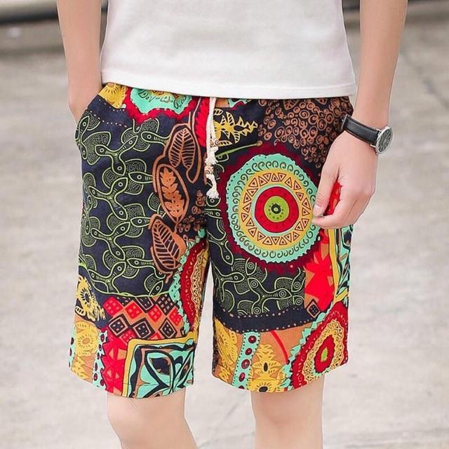 Quần ngố thô đũi chất đẹp nhiều màu hoạ tiết thời trang