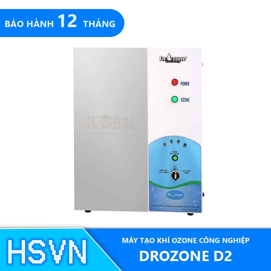 Máy ozone công nghiệp sục thực phârm, xử lý nước Dr.Ozone D2