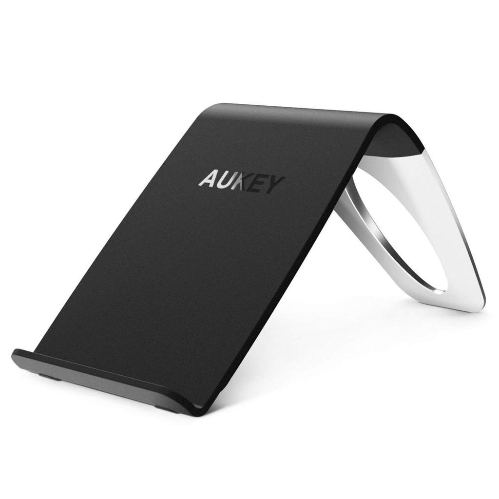 [Mã ELC2C400 hoàn 7% xu đơn 400K] Đế Sạc Không Dây Aukey Qi 5W AiPower Wireless Charger - LC-C1