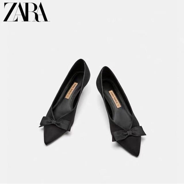 Zara tuồn giày mũi nhọn
