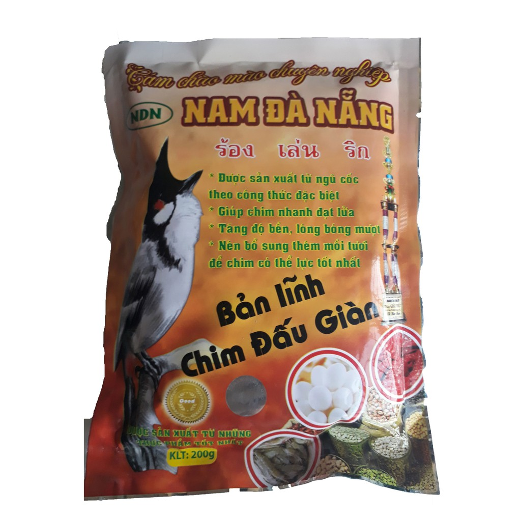 Cám Chào Mào Nam Đà Nẵng 200g - Thức Ăn Chim