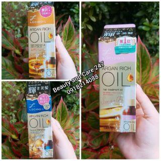 Tinh dầu dưỡng tóc Lucido-L Argan Rich Oil