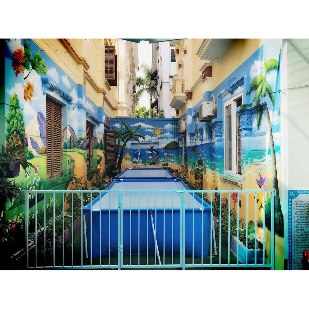 Bể Bơi Khung Kim Loại 4m x 2m x 81cm - Bestway 56405
