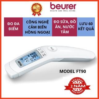 Nhiệt kế điện tử hồng ngoại Beurer FT90, máy đo thân nhiệt, đo nhiệt độ, đo đa điểm, đo nhanh chính xác