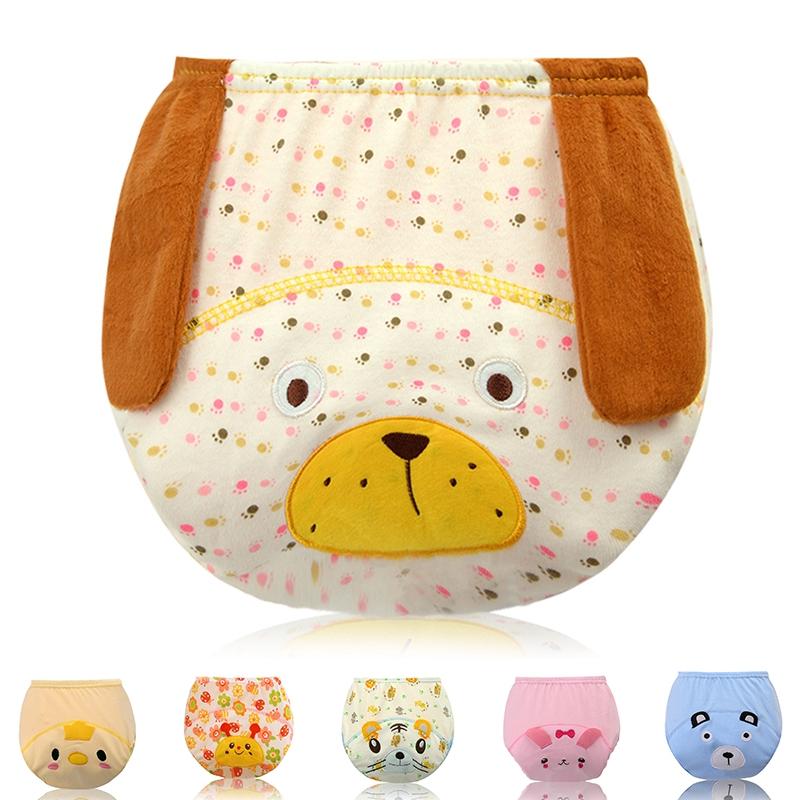 Baby Shorts Underwear Diaper Toddler Boys Girls Toilet Pee Training Underpants