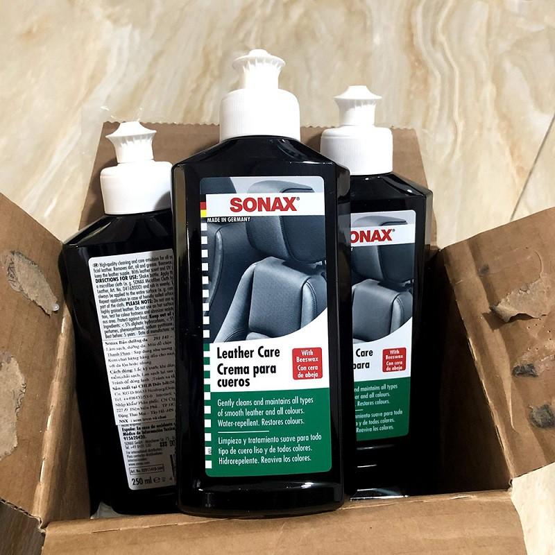Kem bảo dưỡng ghế da ô tô 250ml - Sonax leather care lotion ...