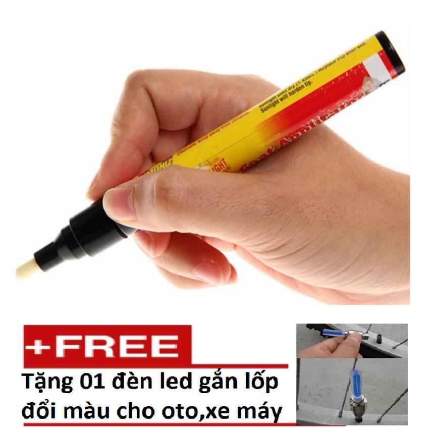 Bộ 2 Bút Xóa Vết Xước Cho Ô Tô Xe Máy TI 164-2A + Tặng 1 đèn led gắn lốp đổi màu TI 131 - 3088284 , 842298450 , 322_842298450 , 85000 , Bo-2-But-Xoa-Vet-Xuoc-Cho-O-To-Xe-May-TI-164-2A-Tang-1-den-led-gan-lop-doi-mau-TI-131-322_842298450 , shopee.vn , Bộ 2 Bút Xóa Vết Xước Cho Ô Tô Xe Máy TI 164-2A + Tặng 1 đèn led gắn lốp đổi màu TI 131