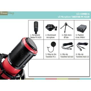 Bộ Microphone Takstar PC-K320