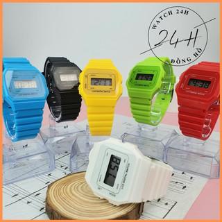 Đồng hồ điện tử cao cấp unisex CASJQ.39 , mẫu mã mới nhiều màu ,full chức năng thumbnail
