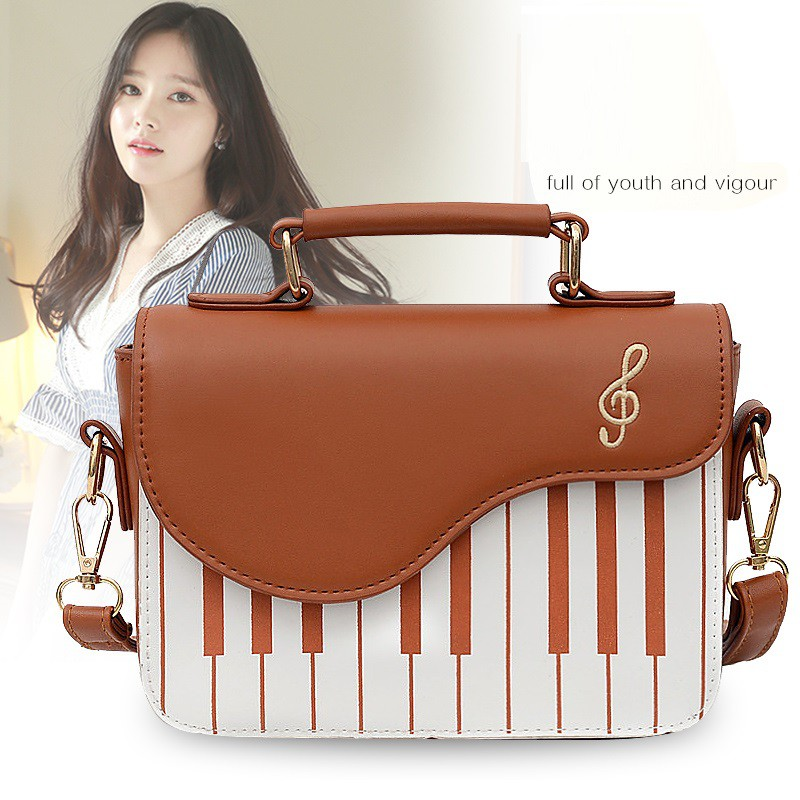 Túi Xách Nữ Quảng Châu Đeo Chéo Đàn Piano Siêu Đẹp Size 20cm